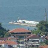 Stavros Greece. Pogled na Stavros sa vidikovca 09.06.2012