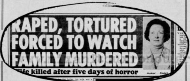 Η δολοφονία της οικογένειας Χρυσαφίδη σε βρετανικό έντυπο. Η Ελισάβετ Χρυσαφίδη ήταν Βρετανή.