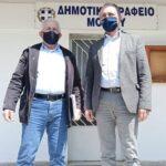 Επίσκεψη Θ. Καράογλου στις Δημοτικές Ενότητες Απολλωνίας και Μαδύτου (Φωτο)
